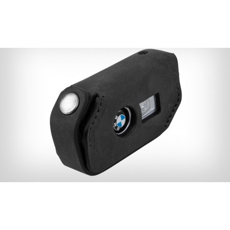 Wunderlich BMW Black Leather Key Pouch