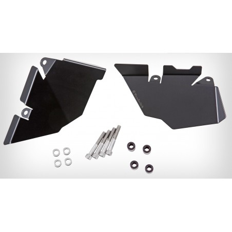 Wunderlich Black passenger footrest cover BMW R1200GS LC