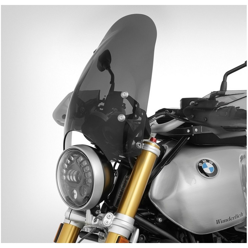 Wunderlich Smoke Retro windscreen BMW NineT