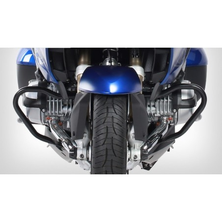 Wunderlich Black engine crash bars BMW R1200RT LC