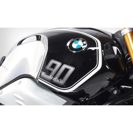 Wunderlich white tank stripes BMW R NineT