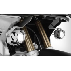 Wunderlich ATON LED additional lights Silver BMW R1200GS LC