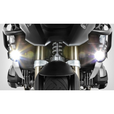Wunderlich ATON LED additional lights Black BMW R1200GS LC