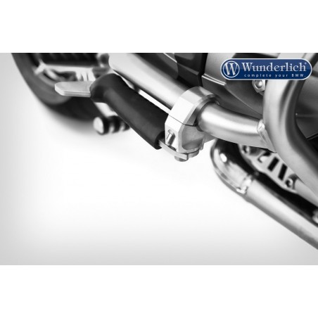 Wunderlich Silver Crash Bars Footrests
