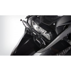 Wunderlich Clear folding headlight protection BMW R1200GS LC