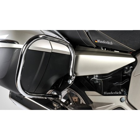 Wunderlich Chrome sidecase protection crash bars BMW K1600GT GTL