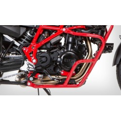 Krauser Red engine crash bars BMW F650GS F800GS