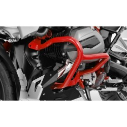 Krauser Red crash bars BMW R1200R RS LC