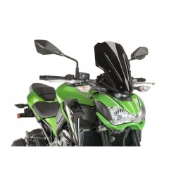 Puig Black Touring windscreen Kawasaki Z900