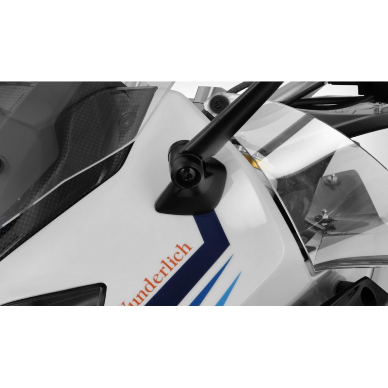 Wunderlich Clear wind flaps deflectors BMW R1250RS