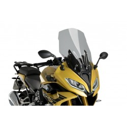 Puig Light Smoke tall touring windscreen BMW R1250RS