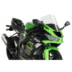Puig Clear Racing Screen Kawasaki ZX6R 19-