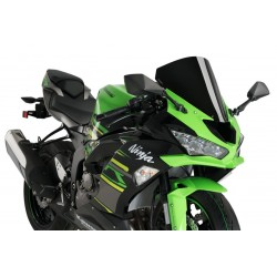Puig Black Racing Screen Kawasaki ZX6R 19-