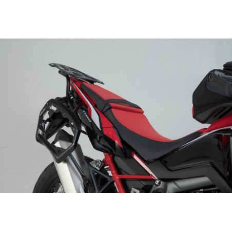 SW-Motech Trax ADV sidecases Silver Honda CRF1100L Africa Twin
