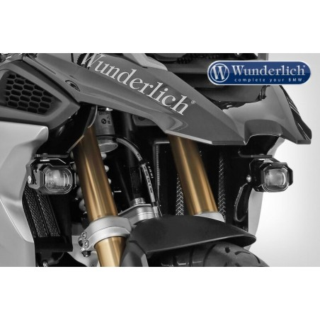 Wunderlich micro flooter LED additional fog lights BMW R1200GS 2017-