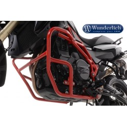 Krauser Red crash bars BMW F700GS