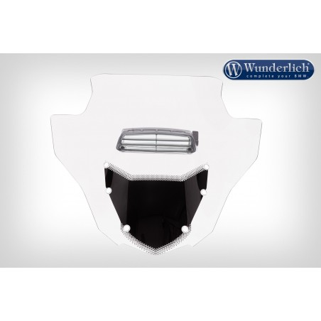 Wunderlich Vented Clear Touring Windscreen BMW K1600GT GTL