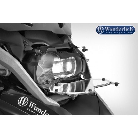 Wunderlich Clear folding headlight protection BMW R1200GS 2017-