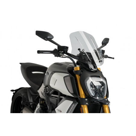 Puig Touring Screen Ducati Diavel 1260