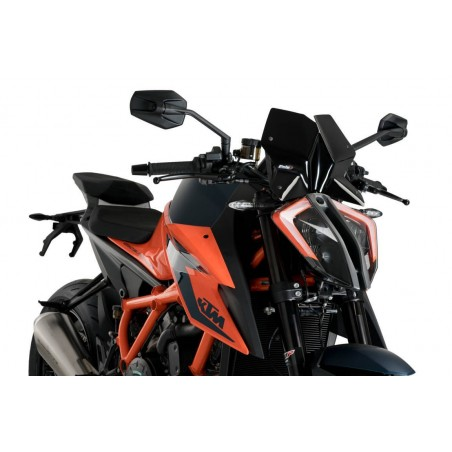 Puig Black Sport Screen KTM 1290 Superduke R 20-