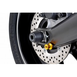 Puig Black swingarm axle sliders Yamaha FZ-09