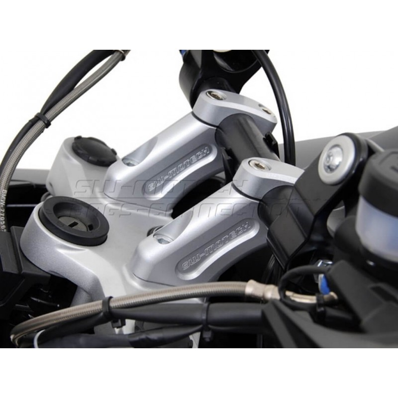 SW-Motech 20mm handlebar risers Barback BMW R1200GS 08-12