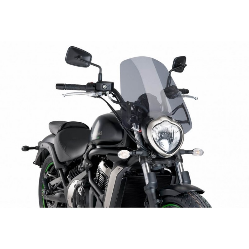 Puig Light Smoke Touring windshield Kawasaki Vulcan S
