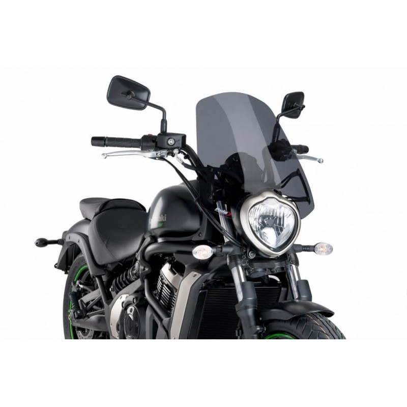 Puig Dark Smoke Touring windshield Kawasaki Vulcan S