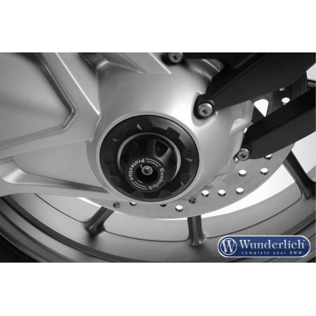 Wunderlich Silver crash pad hub cover BMW R1200GS LC
