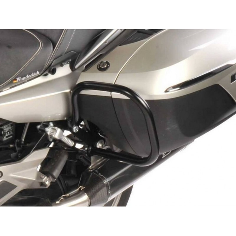 Wunderlich Black sidecase protection crash bars BMW K1600GT GTL